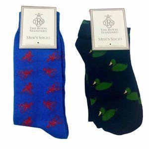 Royal Standard Mens Socks Crayfish Duck Dress